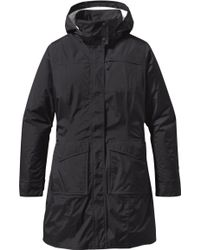 Patagonia - Torrentshell Packable City Coat - Lyst
