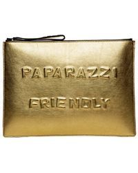 Boyy Paparazzi Friendly Clutch - Lyst