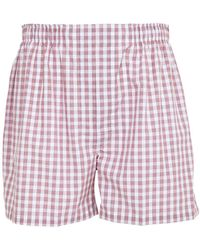 Brooks Brothers - Cotton Boxers - Lyst