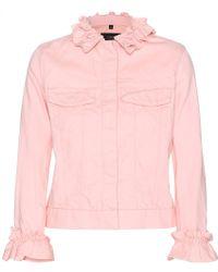 J Brand x Simone Rocha Classic Denim Jacket - Lyst