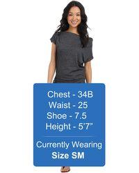 Bench - Twosided Dress - Lyst
