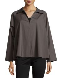 Lafayette 148 New York Zineb Hook-Front Topper Jacket - Lyst