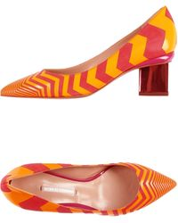 Nicholas Kirkwood Pump orange - Lyst