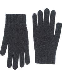 Goyo Gloves gray - Lyst