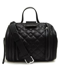 Marc By Marc Jacobs Quilted Moto Barrel Bag - Lyst