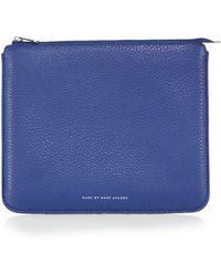 Marc By Marc Jacobs Leather Ipad Sleeve - Lyst