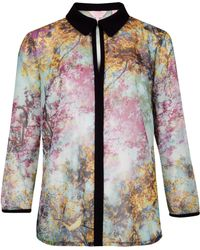 Ted Baker Innde Pretty Trees Print Shirt - Lyst