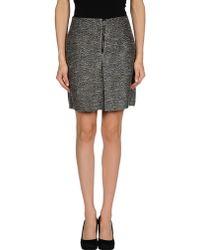See By Chloé Black Mini Skirt - Lyst
