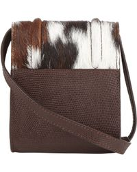Reece Hudson - Haircalf Siren Mini Crossbody - Lyst