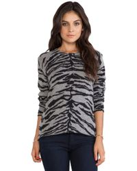 Equipment Sloane Asian Tiger Crew Neck - Lyst