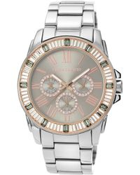 Vince Camuto Womens Stainless Steel Bracelet Watch 43mm Vc - Lyst