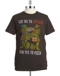 Junk Food - Say Yes To Pizza Tee - Lyst