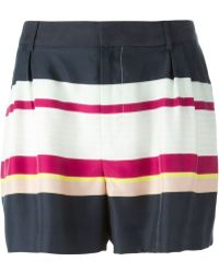 Raoul - Striped Shorts - Lyst