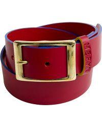 Meryn - The Marlow Belt Red Blue - Lyst