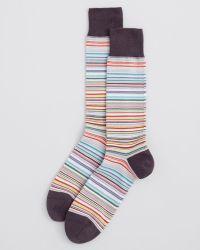 Paul Smith Multistripe Socks - Lyst