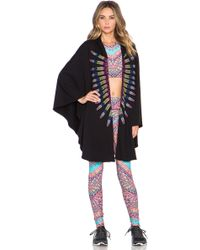 Mara Hoffman - Embroidered French Terry Cape - Lyst