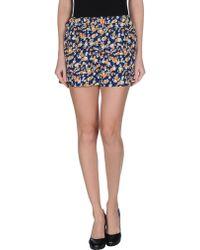 Cutie Blue Shorts - Lyst