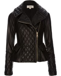 Temperley London Mila Quilted Leather Jacket - Lyst