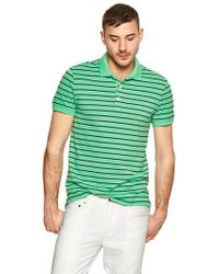 Gap Sunfaded Striped Pique Polo - Lyst