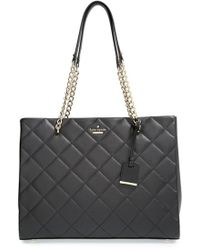 Kate Spade 'Emerson Place - Large Phoebe' Quilted Leather Shoulder Bag - Lyst