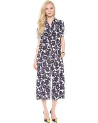 Mother Of Pearl - Floral Jumpsuit - Lyst
