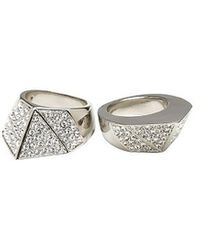 CC Skye Bonnie and Clyde Ring - Lyst