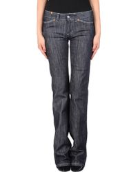 Notify Straight-Leg Cotton-Blend Denim Pants - Lyst