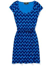 C. Wonder Printed Ikat Belted Dress - Lyst