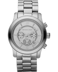 Michael Kors Mens Stainless Steel Chronograph Watch - Lyst