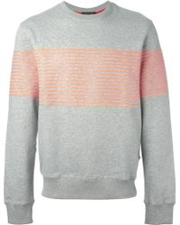 Surface To Air Striped Sweatshirt - Lyst