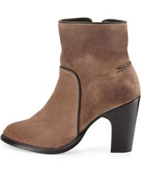 Rag & Bone Grayson Suede Ankle Boot - Lyst