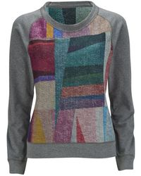 Paul by Paul Smith - Women's Reversible Print Sweatshirt - Lyst