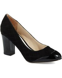 Ron White - Cammie Quilted Heels - Lyst