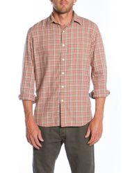 Faherty Brand Saranac Shirt - Lyst