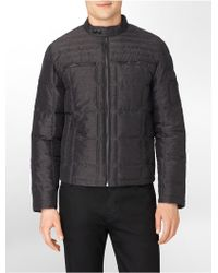 Calvin Klein White Label Quilted Nylon Padded Jacket - Lyst