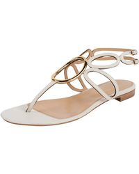 Sergio Rossi | Cut Out Sandal | Lyst