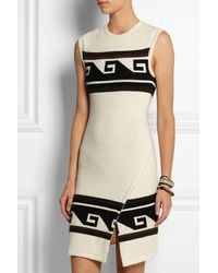 Isabel Marant Sandy Wrapeffect Knitted Mini Dress - Lyst