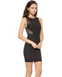 Elizabeth And James Johanna Dress Black - Lyst