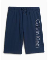 CALVIN KLEIN 205W39NYC - Logo Lounge Sleep Shorts - Lyst