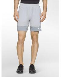 CALVIN KLEIN 205W39NYC - Performance Mesh Running Shorts - Lyst