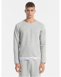 CALVIN KLEIN 205W39NYC - Underwear Modern Cotton Stretch Sweatshirt - Lyst