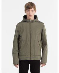 Calvin Klein | Hooded Zip Jacket | Lyst