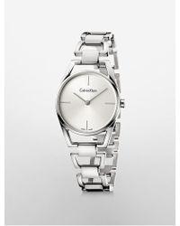 CALVIN KLEIN 205W39NYC - Dainty Bracelet Watch - Lyst
