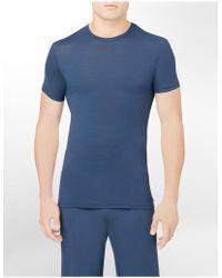 CALVIN KLEIN 205W39NYC - Underwear Micro Modal Short Sleeve Crew - Lyst