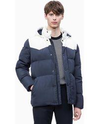 Calvin Klein - Western Down Puffer Jacket - Lyst