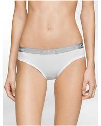 Calvin Klein | Underwear Logo Micro Bikini | Lyst