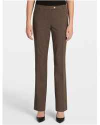 CALVIN KLEIN 205W39NYC - Straight Fit Suit Pants - Lyst