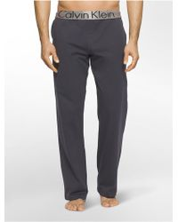 CALVIN KLEIN 205W39NYC - Steel Micro Pajama Pant - Lyst