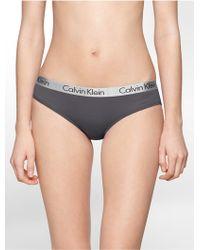 CALVIN KLEIN 205W39NYC - Underwear Logo Cotton Stretch Bikini - Lyst