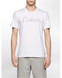 CALVIN KLEIN 205W39NYC - Underwear Ck Id Graphic T-shirt - Lyst